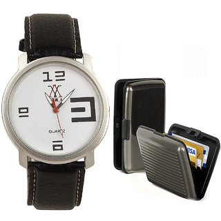 COMBO OF LIME WATCH &CARD HOLDER-AVW10-CARD