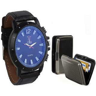 COMBO OF LIME WATCH &CARD HOLDER-AVW18-CARD