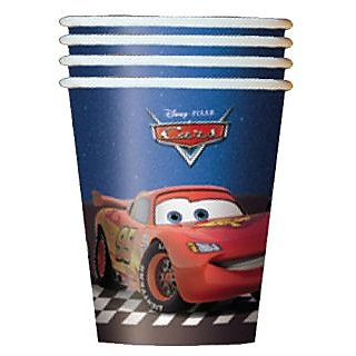 8 Cars 2 Movie 9oz. Cups