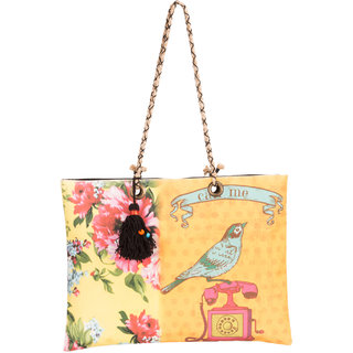 THOT Printed Canvas Handbag 304