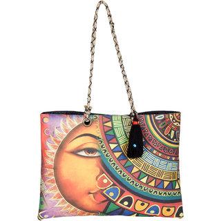 THOT Printed Canvas Handbag 272