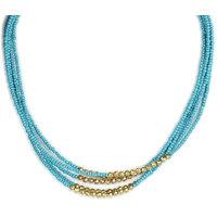 THE PARI Symmetrical Blue Necklace