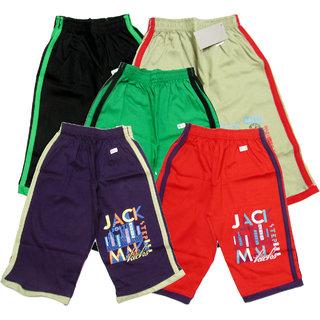 Set of 3 pc 3/4 th Kids Children Baby Boys Girls Cotton Track Pant Capri Size XL