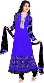 Stutti  Fashion Blue Color Georgette AnarkaliSuit.