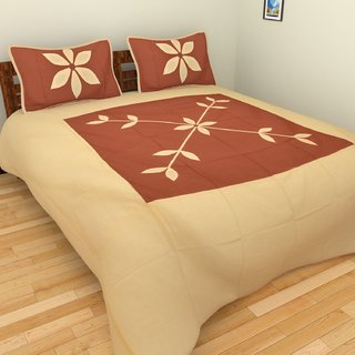 Star Trendz Cotton Abstract Double Bedsheet With 2 Pillow cover.vi540