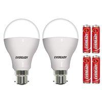 Eveready 12W 6500K Cool Day Light Pack of 2 Led Bulbs