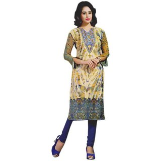 Unstitched women and girls very beautiful cotton designer kurta