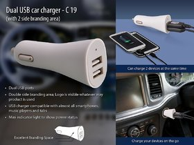SB-Tech Dual Usb Car Charger
