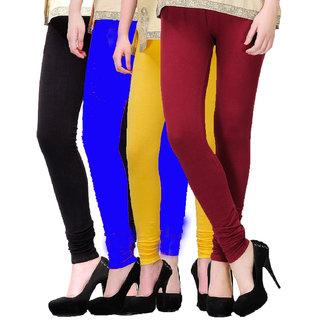 Genfire India Leggings Combo Pack of 4