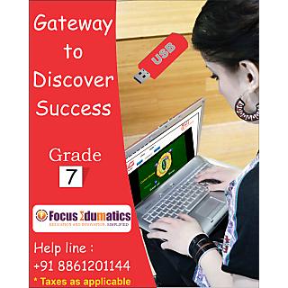 CBSE,ICSE,NCERT Interactive Learning Content Pen Drive For Class 7 By Class Guru