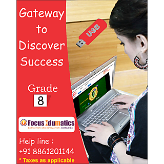 CBSE,ICSE,NCERT Interactive Learning Content Pen Drive For Class 8 By Class Guru