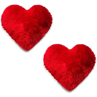2 pc cutest heart pillow/soft toy