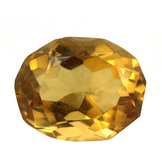 Avataar Gems 7.25 Ratti IGLI Certified Oval Shape Untreated Citrine Sunehla Gemstone