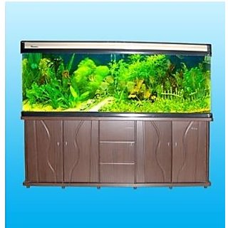 Buy Minjiang Aquarium Fish Tank 4ft With Cabinet And All Accesories