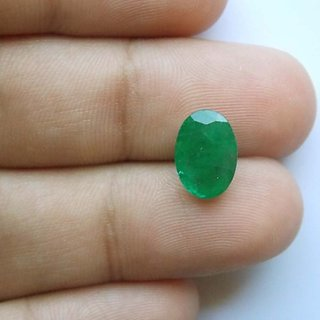 7 Ratti Genuine Emerald (Panna) Birth Gemstone