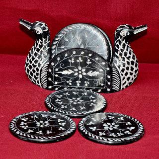 Duck Designer Marble Coaster Sets