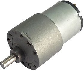 60 RPM 12v DC Offside Gear Motor - Side Shaft