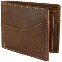 Hidelink Everyday Brown Leather Wallet For Men