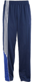 NAVEX Man's Blue Polyster Trackpants-S
