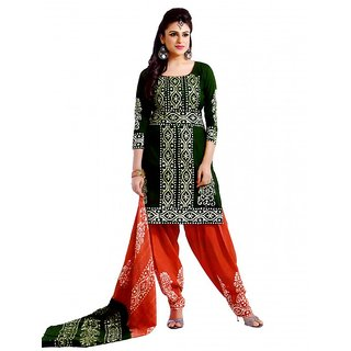 Grahcjows creations unstitched ladies suits