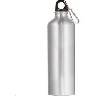 Kudos Silver Aluminium Water Bottle