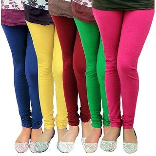 Stylobby Multi Color Legging Combo Of 5