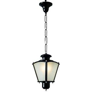 Classic Black Small Outdoor Lantern Light