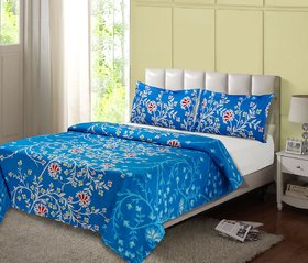 desi connection  double cotton bed sheet
