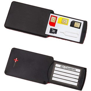 Safe Case- Traveling Sim/ Memory Card Holder