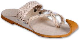 Panahi Men's Beige Ethnic Sandal