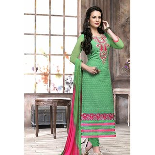 Bulbulz Cotton  Pink Straight Long Suit