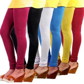 Stylobby Multi Color Legging Combo Of 6