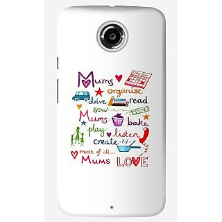 The Fappy Store mums-love Back Cover For Moto X 2nd Gen