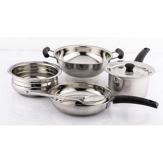 Mahavir 6pc Induction base Cookware set