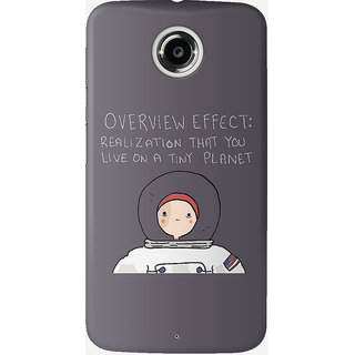 The Fappy Store The-Astronaut Back Cover For Moto X 2nd Gen