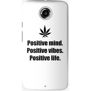 The Fappy Store positive-minds-vibes-life Back Cover For Moto X 2nd Gen