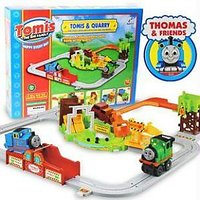 Full Set Of Thomas And Quarry Battery Operated Train Set