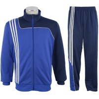 NAVEX Man's Blue & Nevy Blue Polyster Training Tracksuits-S