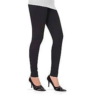 Quality Cotton Black Leggings