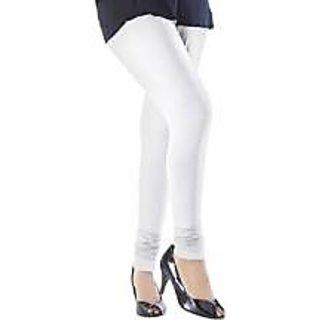 Quality Cotton White Leggings