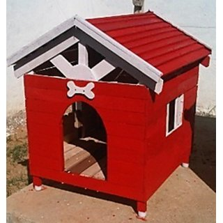 Wooden Dog House Small Size