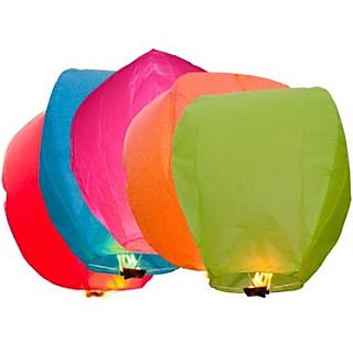 Skycandle.in India Sky Lanterns - Pack of 10