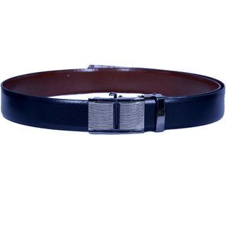 Master Belt Black  Italian Leather Reversible Formal Belt For Men