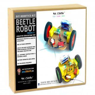 Be Cre8v | Beetle Bot v2.0 Robotics Kit