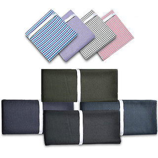 Krivas suitings formal wear pack of 4 (2 shirts and 2 pants)