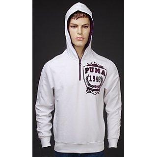 Men's White Sweatshirt