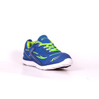 Escan Men's Blue And Green Sport Shoes