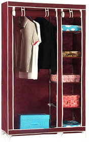 Foldable Wardrobe Almirah Cupboard-IV-P