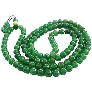 Religiousdeal 8 MM Green Agate Mala