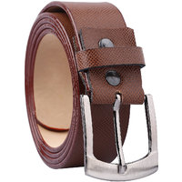 Fashno Leatherite Tan color Belt